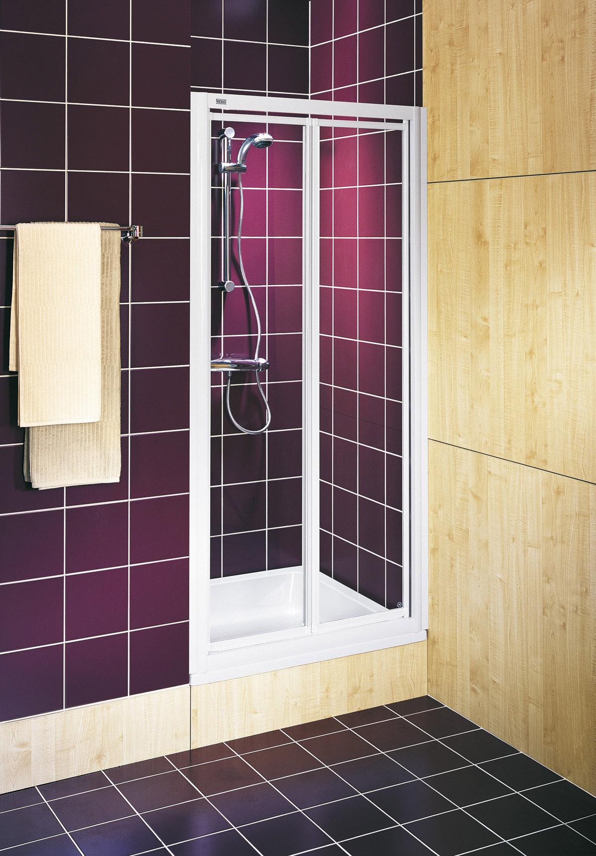 sprchové kouty KOLO AKORD 90 RDRF90222 lítací dveře