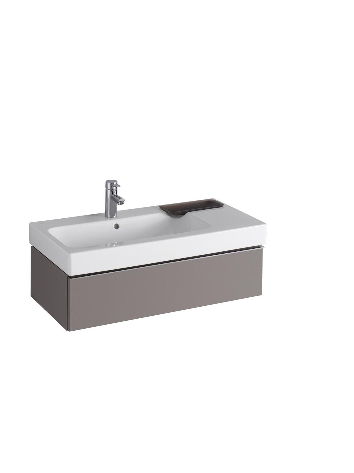 koupelnový nábytek KERAMAG Icon 89x24 platinum