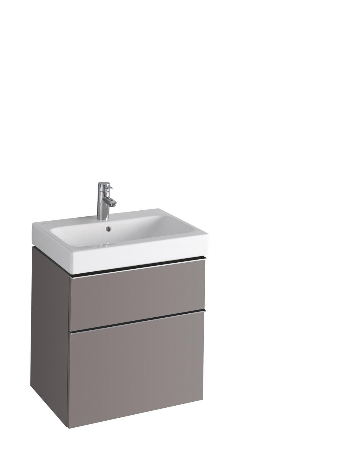 koupelnový nábytek KERAMAG Icon 59,5x62 platinum