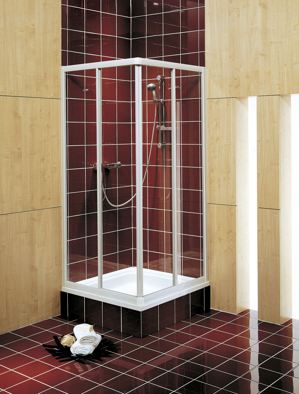 sprchové kouty KOLO AKORD RKDK90222 90x90