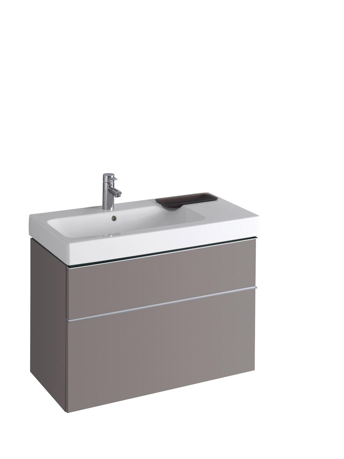 koupelnový nábytek KERAMAG Icon 89x62 platinum