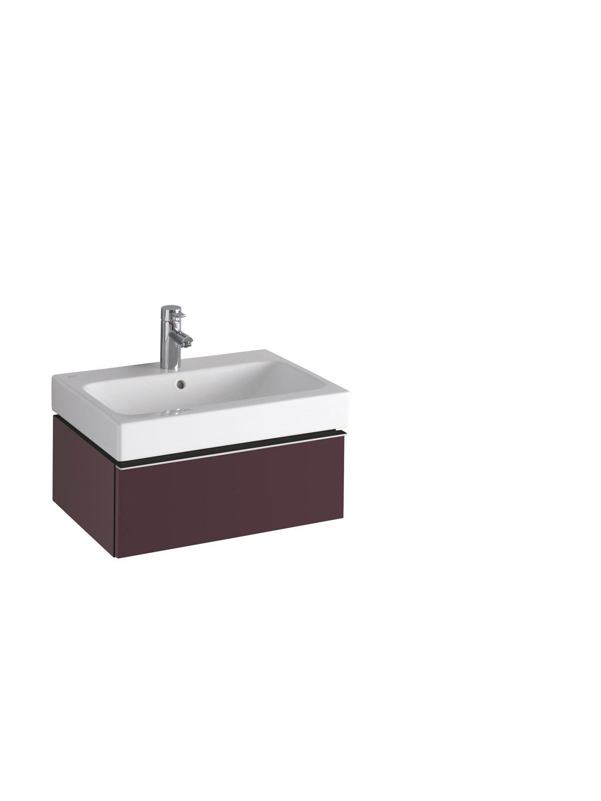 koupelnový nábytek KERAMAG Icon 59,5x24 burgundy