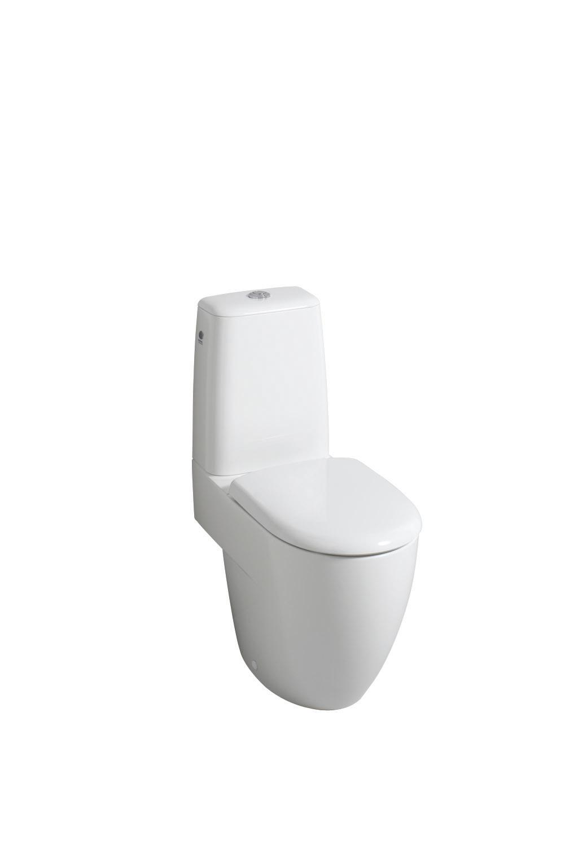 wc/klozety KERAMAG 4U WC kombi bílá