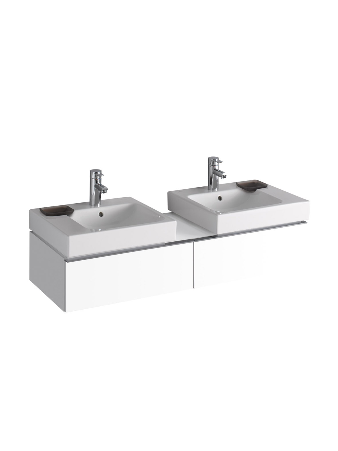 koupelnový nábytek KERAMAG Icon levá+pravá bílá