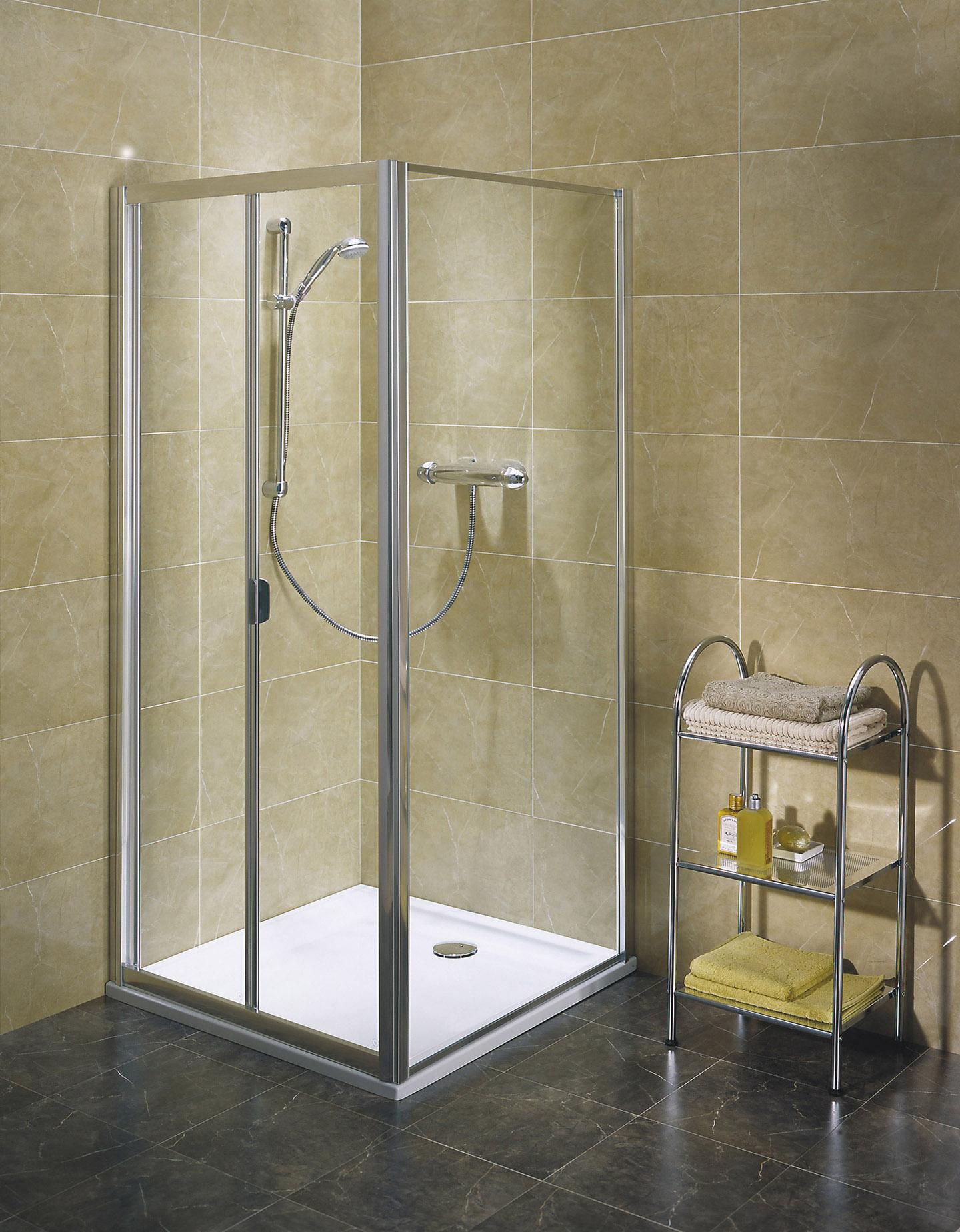 sprchové kouty KOLO AKORD 90 RDRB90222005 skládací dveře