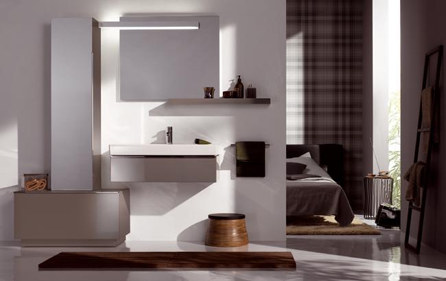 koupelnový nábytek KERAMAG Icon 59,5x24 platinum
