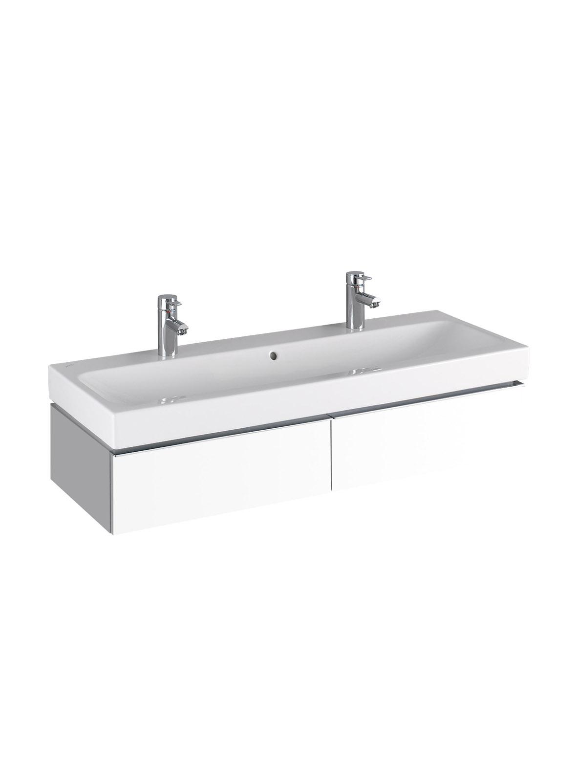 koupelnový nábytek KERAMAG Icon 119x24 bílá