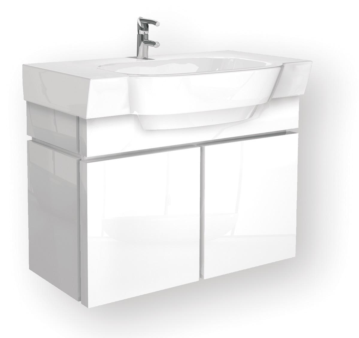 koupelnový nábytek KOLO Varius skříňka pod umyvadlo- bílá