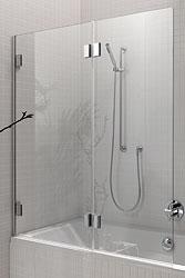 sprchové kouty KOLO Niven FPNF12222008L sprchová zástěna 2dílná 125cm levá
