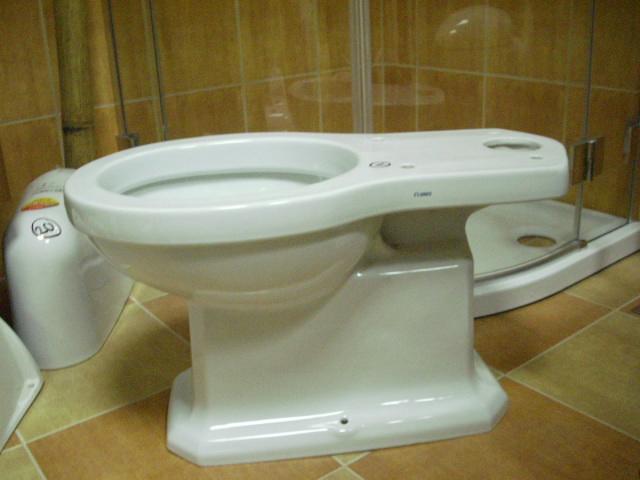 wc/klozety Senesi kombi WC spodní odpad