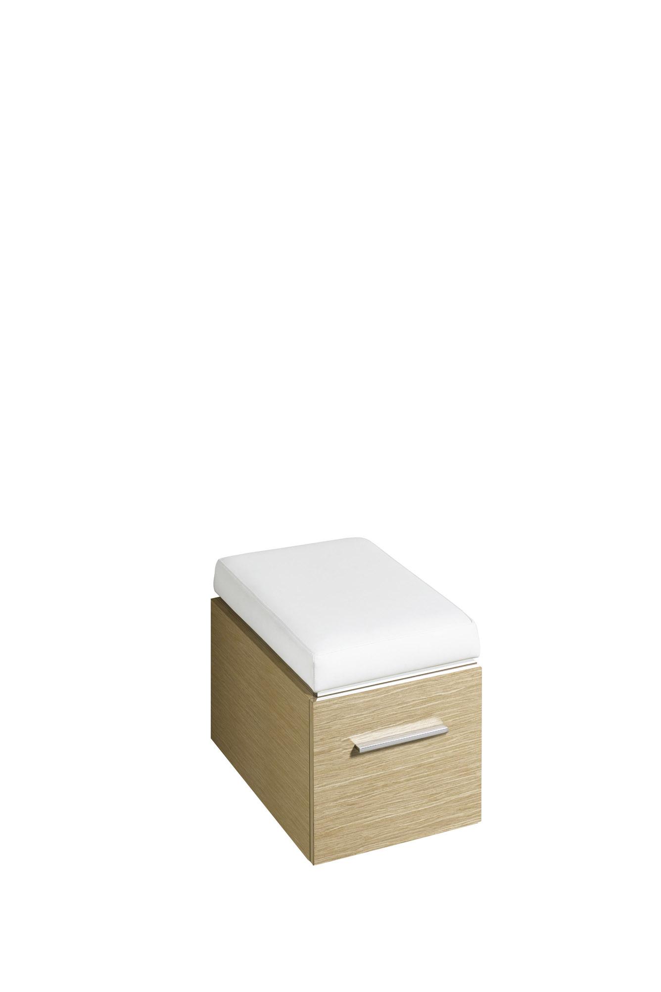 koupelnový nábytek KERAMAG Silk sedák dub