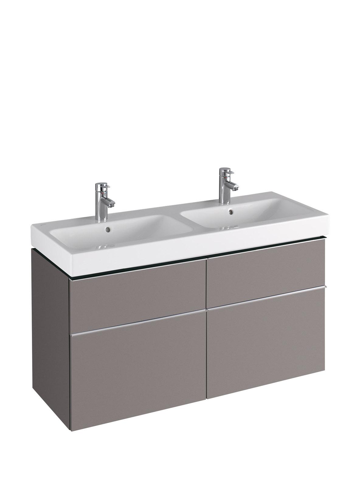 koupelnový nábytek KERAMAG Icon 119x62 platinum