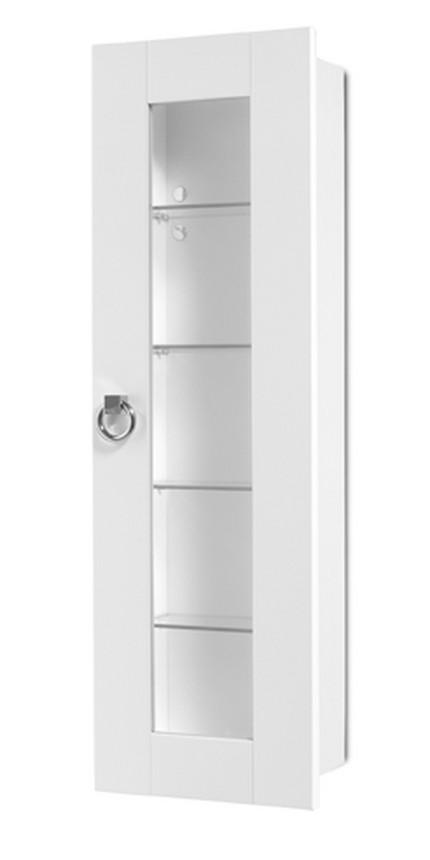 koupelnový nábytek KERAMAG JOOP! závěsná vitrína, bílý lak