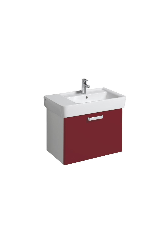 koupelnový nábytek KERAMAG Ren.Nr.1Pl bílá/rubín