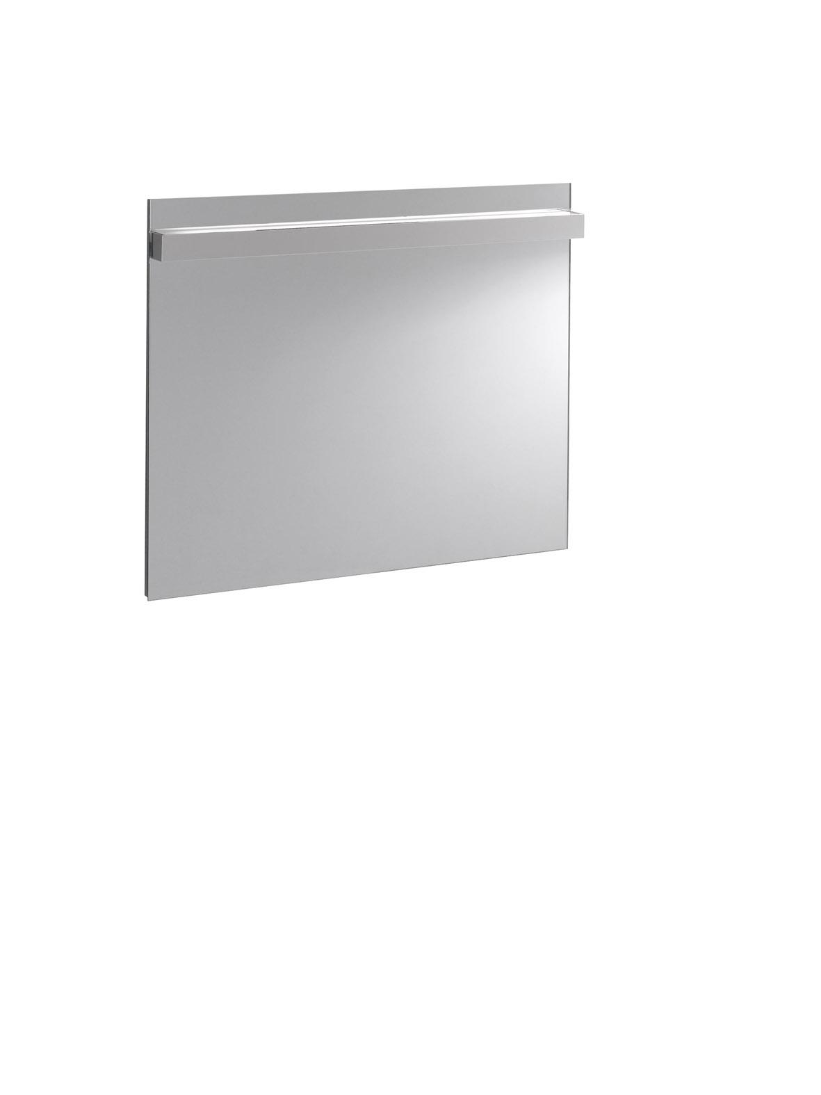 zrcadlo KERAMAG Icon zrcadlo s osvětlením 90x75 cm