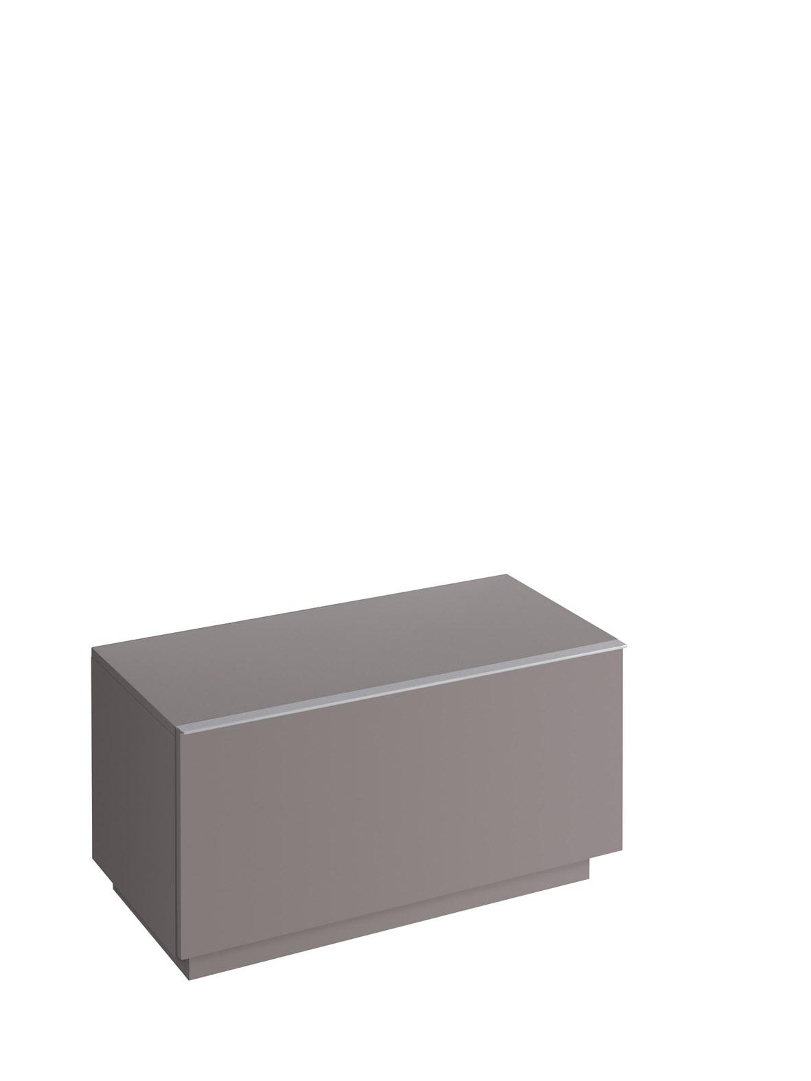 koupelnový nábytek KERAMAG Icon 89x47,2 platinum