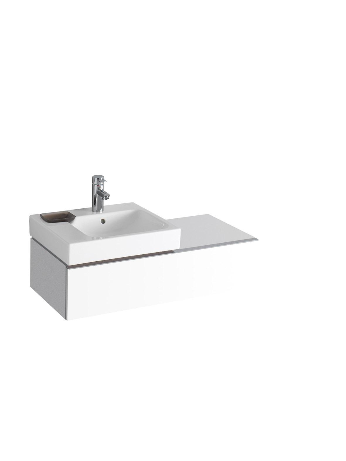 koupelnový nábytek KERAMAG Icon levé bílá