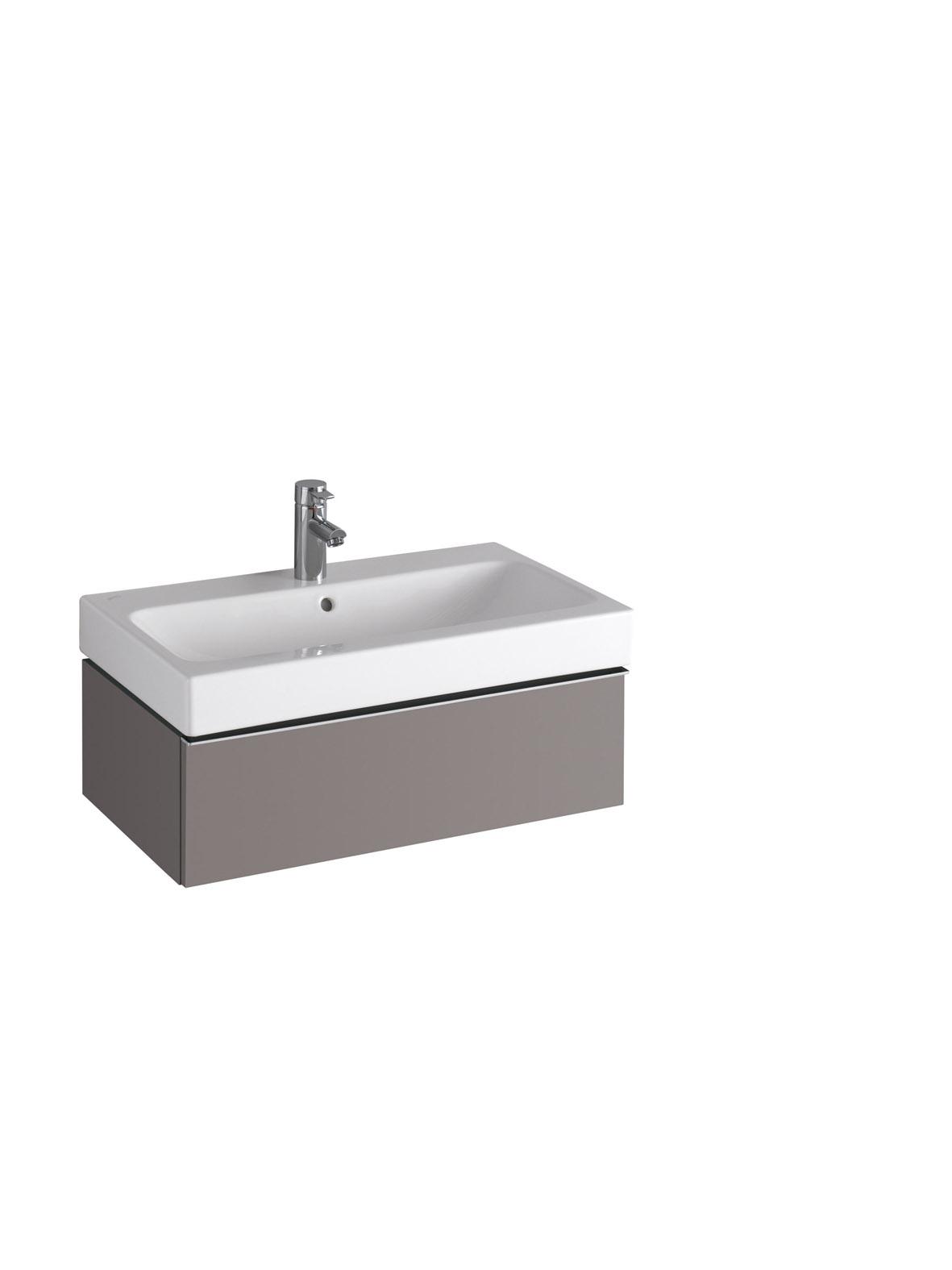 koupelnový nábytek KERAMAG Icon 74x24 platinum