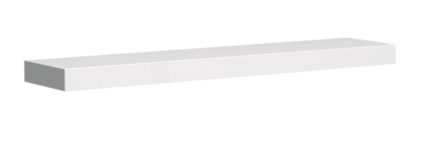 koupelnový nábytek KOLO Varius polička 80 cm- bílá