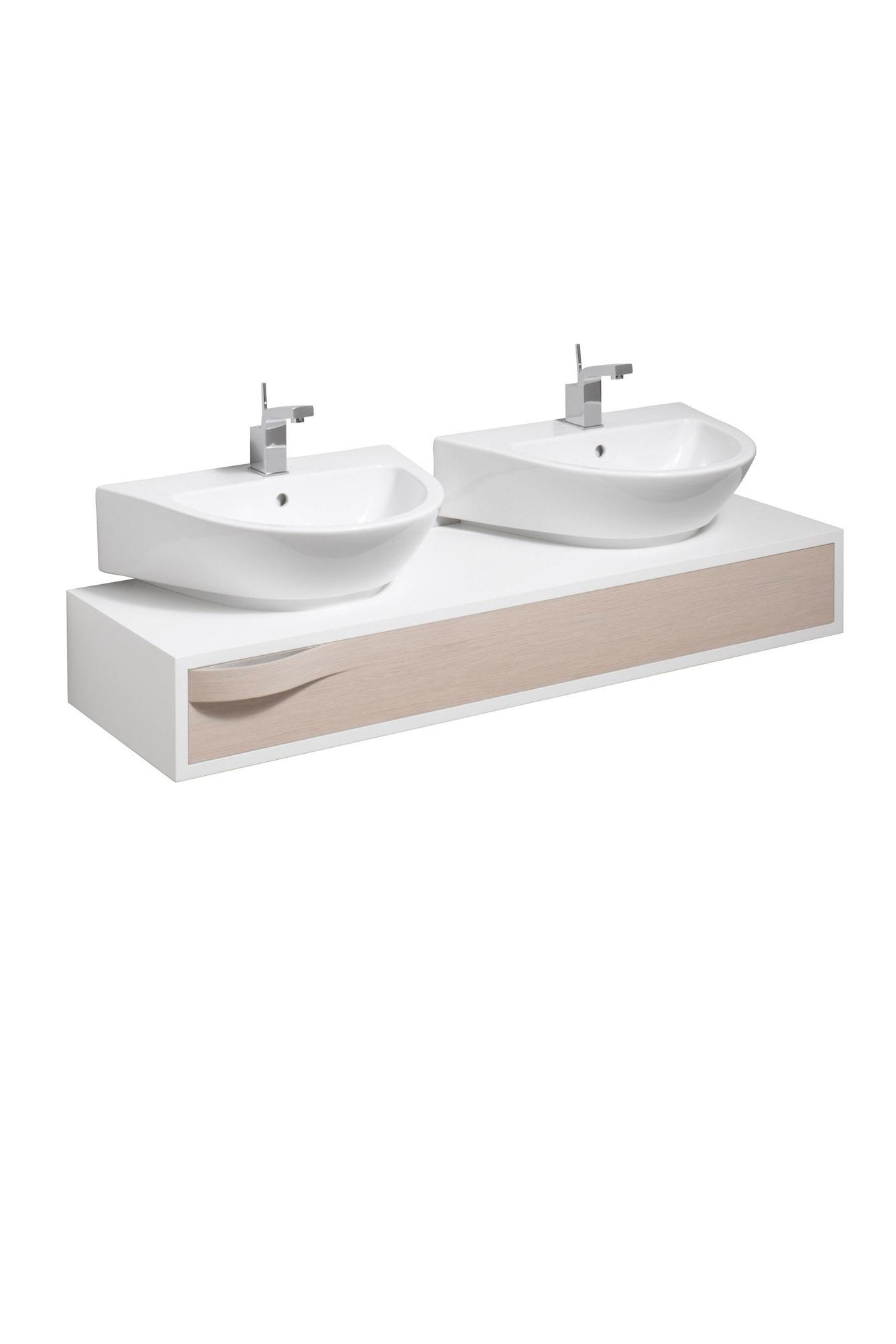 koupelnový nábytek KERAMAG Flow světlý dub