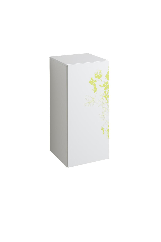 koupelnový nábytek KERAMAG 4U bílá+motiv zelený