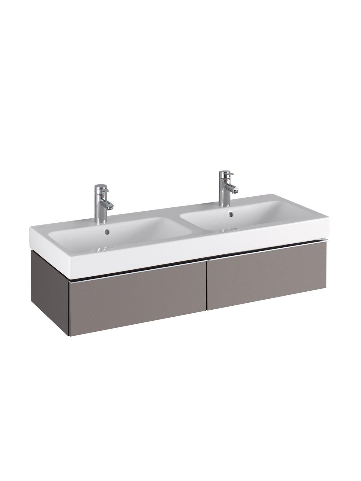 koupelnový nábytek KERAMAG Icon 119x24 platinum