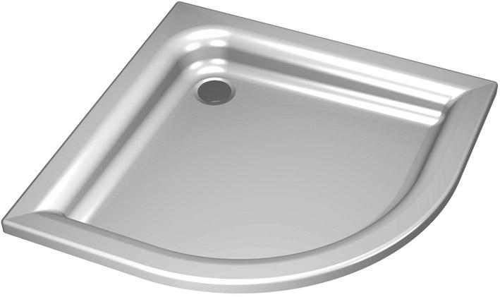 sprchové vaničky KOLO Standard Plus XBN1580 80x80x9 čtvrtkruh