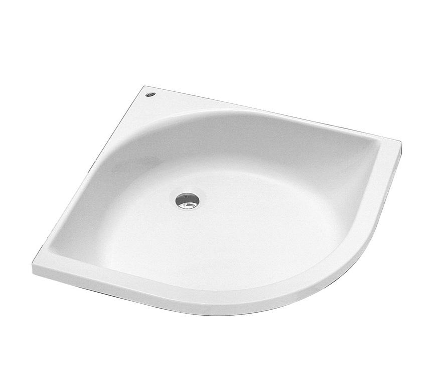 sprchové vaničky KOLO Hluboká vanička XBN0380 80x80x21 čvtvrtkruh