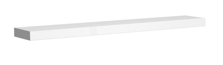 koupelnový nábytek KOLO Varius polička 100 cm- bílá