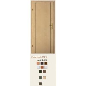 dveře vnitřní PORTA DOORS FRÉZOVANÉ VZOR A
