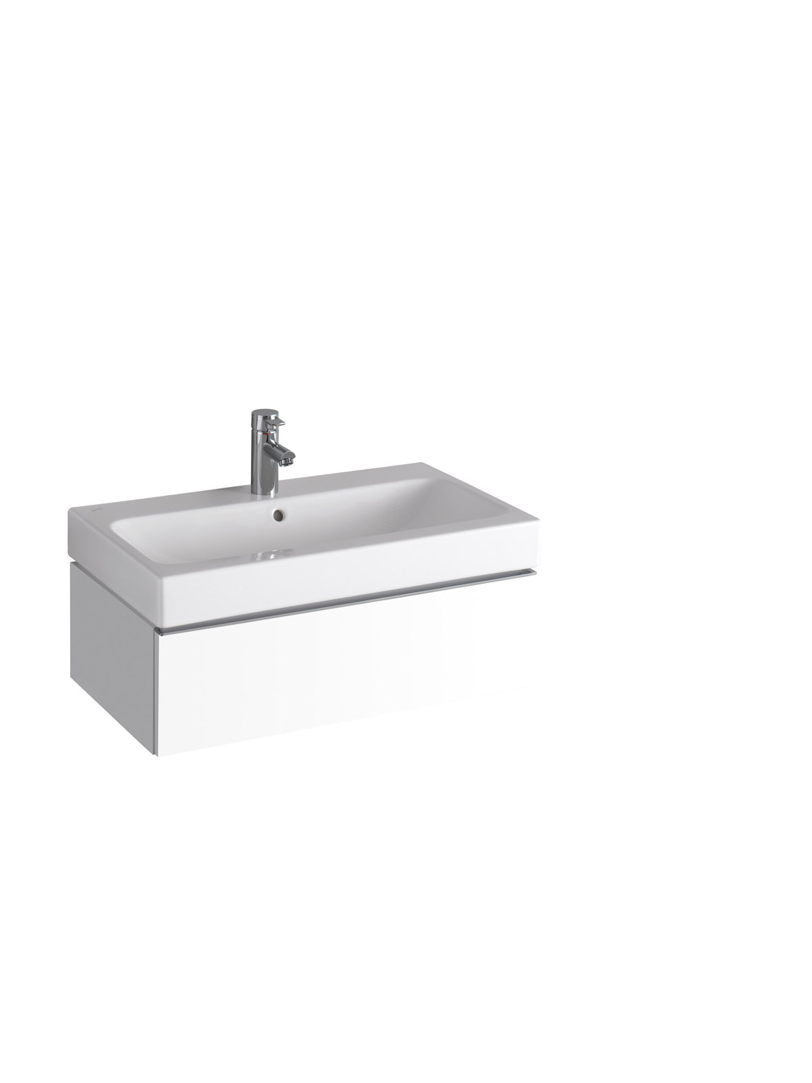 koupelnový nábytek KERAMAG Icon 74x24 bílá