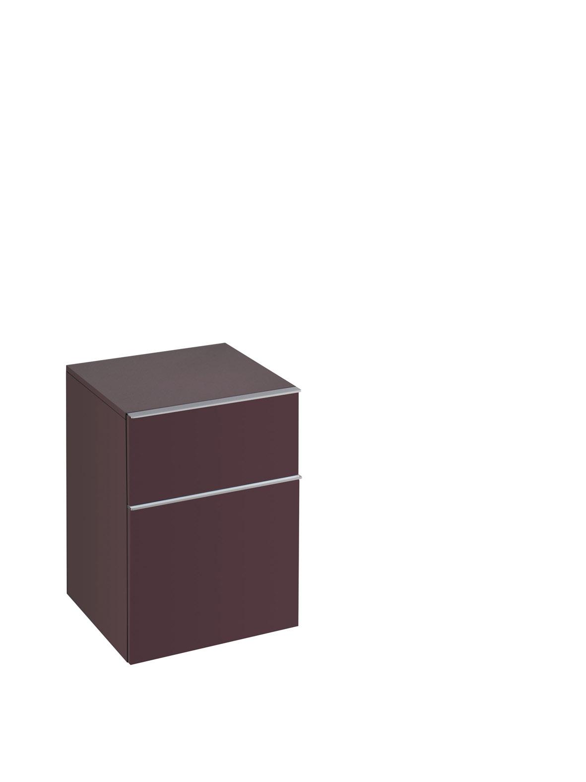 koupelnový nábytek KERAMAG Icon 45x60 burgundy