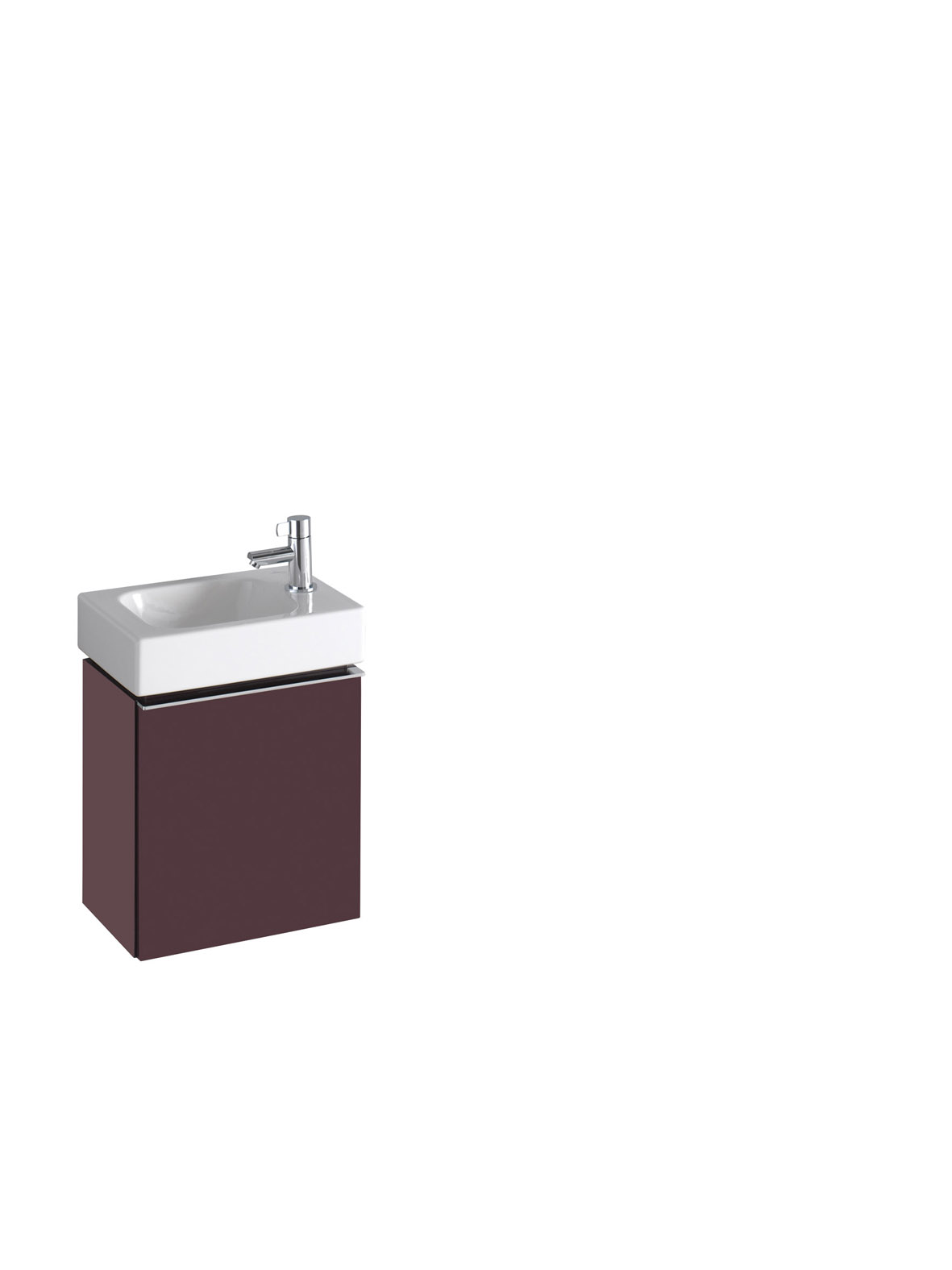 koupelnový nábytek KERAMAG Icon 38 cm burgundy