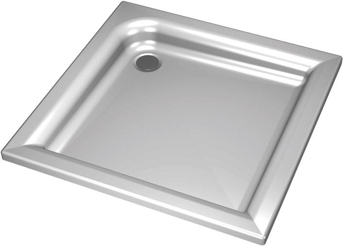 sprchové vaničky KOLO Standard Plus XBK1580 80x80x9 čtvercová